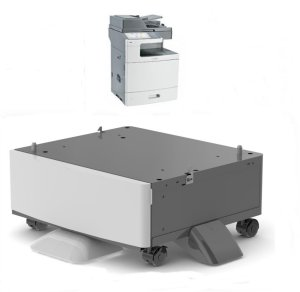 Lexmark C792 Printer Stand with Casters, available in 2 heights