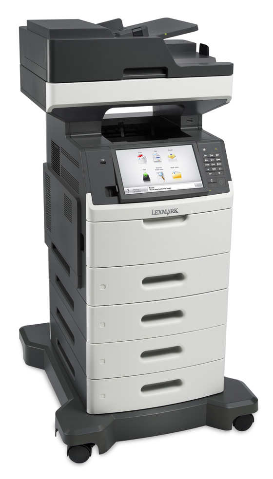 Lexmark MX711de MFP Mono Laser with Optional Drawers